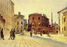 Campo Dei Gesuiti - John Singer Sargent