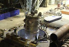 'Revived' Atommash completes reactor pressure vessel (RPV)for Belarus
