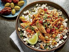 Now this is a flavorful recipe. Chockfull of vibrant flavor, our Moroccan Turkey Legs and Thighs with Fruit, Olives, and Almonds is definitely a Best Crockpot Recipes, New Recipes, Turkey Legs, Healthy Slow Cooker, Cooking Turkey, Middle Eastern Recipes, Almond Recipes, Turkey Recipes, Casserole Recipes