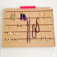 持ち運びOK!アクセサリー収納ケースの作り方   簡単DIY!numakoのブログ