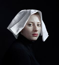 Handkerchief. With His Daughter As Muse, Photographer Hendrik Kerstens Emulates Flemish Paintings. Not only does he picture her in relation to events in her own life, he also projects on her his fascination with the Dutch painters of the seventeenth century.