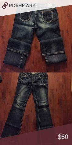 "MEK women's denim jeans ""Frisco"" tall 36"" Dark blue denim jeans by MEK! MEK Jeans Boot Cut"