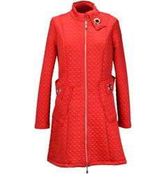 Frank Lyman red knit jacket, $253, Donna's Fashions.