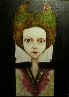 Oilpainting,Original,girl,portrait,painting