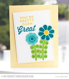 Build-able Blooms, For the Boys, Myriad Dot Background, Build-able Blooms Die-namics, Cross-Stitch Rectangle STAX Die-namics - Lisa Johnson  #mftstamps
