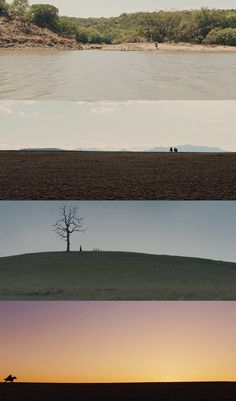 These are some good examples of wide shots in film. The camera is very far away from the subject so that the entire landscape/surroundings are visible, but the subject itself is not lost and still appears as a small speck in the distance. Cinematic Photography, Film Photography, Light Film, Movie Shots, True Grit, Film Inspiration, Film Serie, Moving Pictures, Baddies