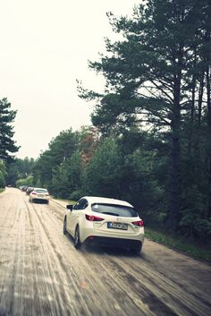 Stage7: On the way from Minsk to Brest today the roads were so good the Mazda Route3 took a detour cross country to give the All-New Mazda3 a challenge