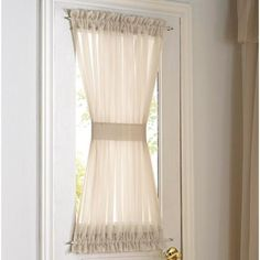 Whole Home®/MD Rhapsodyu0027 Voile Door Panel   Sears | Sears Canada, · Front  Door CurtainsWindow ...