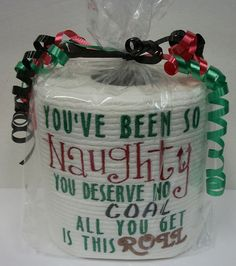 Gag Gifts in Novelty & Gag Gifts - Etsy Gift Ideas - - Gag Gifts Christmas, Christmas Humor, Holiday Crafts, Christmas Crafts, Christmas Ideas, Christmas Neighbor, Santa Gifts, Christmas Holidays, Christmas Ornaments