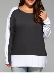 SHARE & Get it FREE | Plus Size Long Sleeve Loose Fitting BlouseFor Fashion Lovers only:80,000+ Items • New Arrivals Daily • Affordable Casual to Chic for Every Occasion Join Sammydress: Get YOUR $50 NOW!