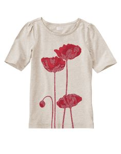 Sparkle Poppy Tee at Crazy 8