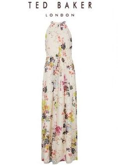 Floral Maxi Dress by Ted Baker Maxi Summer Spring