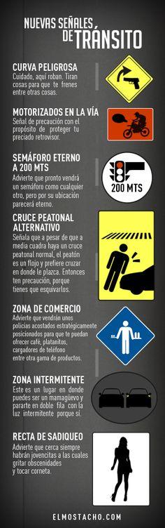 Nuevas señales de transito a implementar en Venezuela