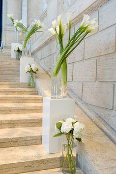 style me pretty - real wedding - usa - california - san francisco wedding - asian art museum - ceremony decor - aisle decor