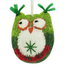 Owl ornament #fairtradeChristmasOrnaments