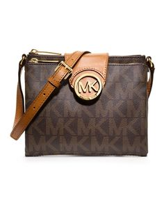 MICHAEL Michael Kors  Large Fulton Logo Crossbody. #wishlist