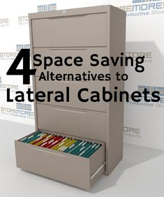 lateral file cabinet alternatives space saving storage