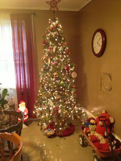 Tree in dinning room