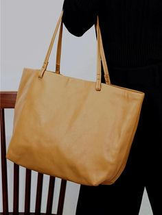 "Material: Cowhide Color: Tan Dimensions:Inches: Height 11"" x Width 12.6""-17.7"" x Depth 5.1"" Inches Backpack Bags, Tote Bags, Shopper Tote, Vintage Bags, Purses And Bags, Backpacks, Handmade Leather, Totes, Collection"