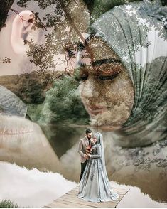 Wedding planning can be so normal that the couple gets ignored in the event. Foto Wedding, Wedding Pics, Wedding Shoot, Wedding Couples, Pre Wedding Poses, Pre Wedding Photoshoot, Muslimah Wedding Dress, Cute Muslim Couples, Wedding Couple Poses Photography