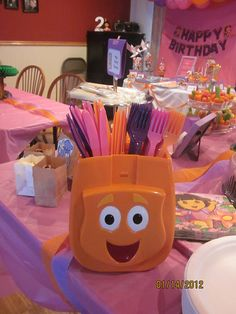 Sharing Tidbits . . .: Kelsey's 2nd Birthday Party - Setup!