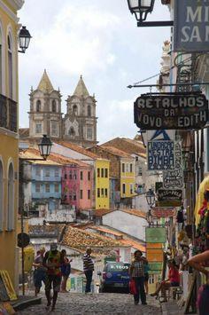 Ces lieux et ces humains qui marquent ta mémoire à jamais afin d'en créer un souvenir inoubliable.  Salvador da Bahia, Brésil