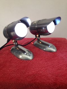 Bausch & Lomb mini spotlights.