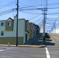 Noe Valley  12 x 12 archival print  81/100 by leahgiberson on Etsy, $50.00