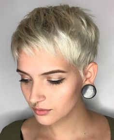 99 Inspirational Pixie Cut with Fine Hair, Pixie Cuts for Fine Thin Hair, Pixie Haircuts for Fine Hair, 50 Best Trendy Short Hairstyles for Fine Hair Hair Adviser, 50 Very Short Pixie Cuts for Fine Hair 2019 Short Pixie Cuts. Fine Curly Hair, Short Thin Hair, Short Hair With Layers, Short Hair Cuts, Curly Hair Styles, Long Hair, Chic Short Hair, Short Bangs, Pixie Cuts