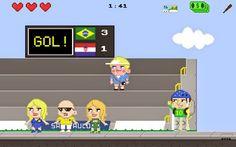 Como foi a experiência dos estrangeiros na Copa do Mundo? Gringo Hero, um novo jogo, responde a essa pergunta com humor.