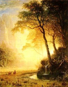 Albert Bierstadt Hetch Hetchy Canyon