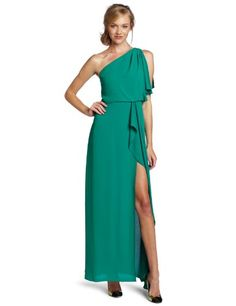 i want! :) fashion, style, cloth, bcbgmaxazria women, shoulder gown, dress, gowns, one shoulder, women kendal