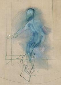 Francis Bacon, 'Figure Opening Door', c.1968