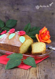 Rosen-Grießkuchen