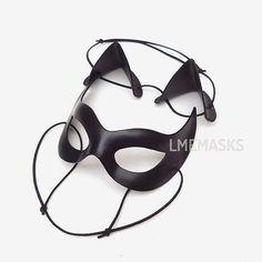 Kit Catwoman: Masque chat oreilles Julie Newmar par LMEmasks