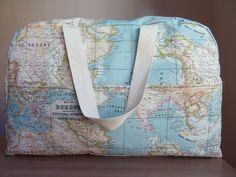 Image of Bolsa mapamundi para el carrito del bebé
