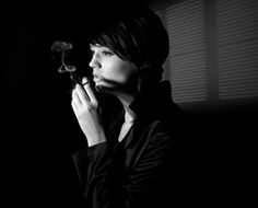 Smoking is bad...but look how the smoke makes a visual statement... shadows are wonderful in this pic...