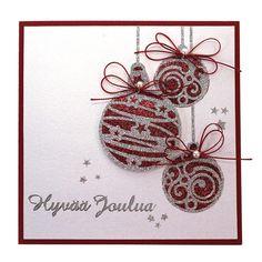 Sinelli - Askarteluverkkokauppa - Askartelu - Askartelutarvikkeet Diy Christmas Cards, Merry Christmas, Yule, Gift Tags, Card Ideas, Diy And Crafts, Scrap, Place Card Holders, Gifts