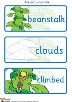 Editable beanstalk leaves template | Vincents 3rd Bday ...
