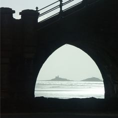 The Mumbles as seen through a railway arch, Swansea, South Wales, UK Shared by Motorcycle Fairings - Motocc Swansea Bay, Swansea Wales, Wales Uk, South Wales, Cymru, Far Away, Welsh, Homeland, Bridges