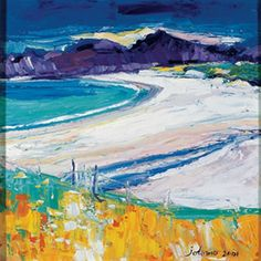 Kiloran Bay, Colonsay by John Lowrie Morrison. King & McGaw has an extensive collection of art prints by established and emerging artists, which are all framed by hand in the UK. Art Pictures, Art Images, Framed Pictures, Pretty Pictures, Photos, Southwestern Art, Paintings I Love, Art For Art Sake, Urban Art