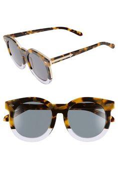 Karen Walker 'Super Duper Thistle' 52mm Retro Sunglasses