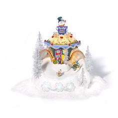 """Department 56: Products - """"Frosty's Sled's N' Saucers"""" - View Accessories"""