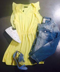 Yellow dress #bygetty