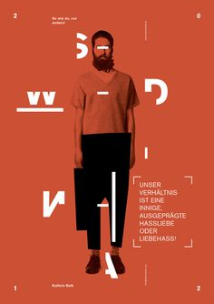 Designer of the week - 11/11/2013 Dominik Bubel | http://dominikbubel.de My constant ambition is to merge and restrict typography, movin...