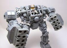 Lego mech hard suit