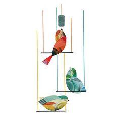 graphic design bird singing - Google Search