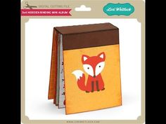3x4 & 4x6 Hidding Binding Mini Album - YouTube Silhouette Cameo Projects, Silhouette Design, Mini Scrapbook Albums, Mini Albums, Mini Album Tutorial, Holiday Themes, Vinyl Projects, Mini Books, Scrapbooking Layouts