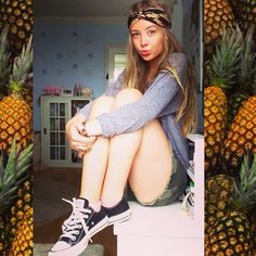 Taylor Howell wearing Converse Chuck Taylor All Star