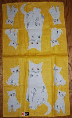 Kitten tea towel I Vera Neumann